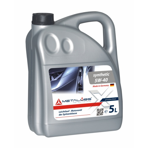 Metalubs Synthetic Oil 5W-40 5l