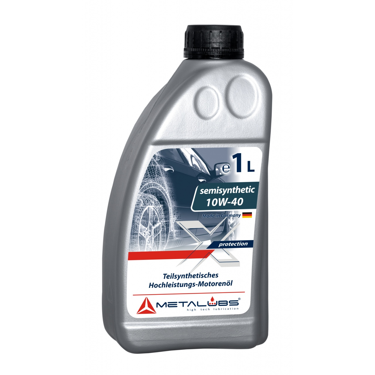 Metalubs Semi-Synthetic Oil 10W-40 1l