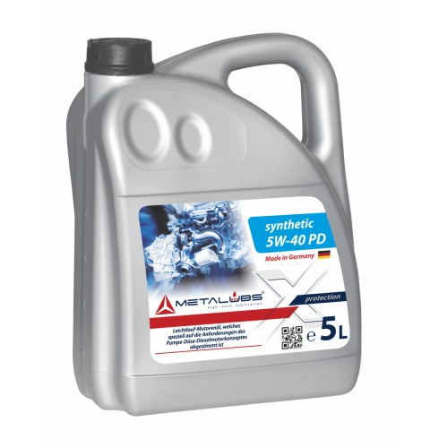 Metalubs Synthetic Oil 5W-40 PD 5l