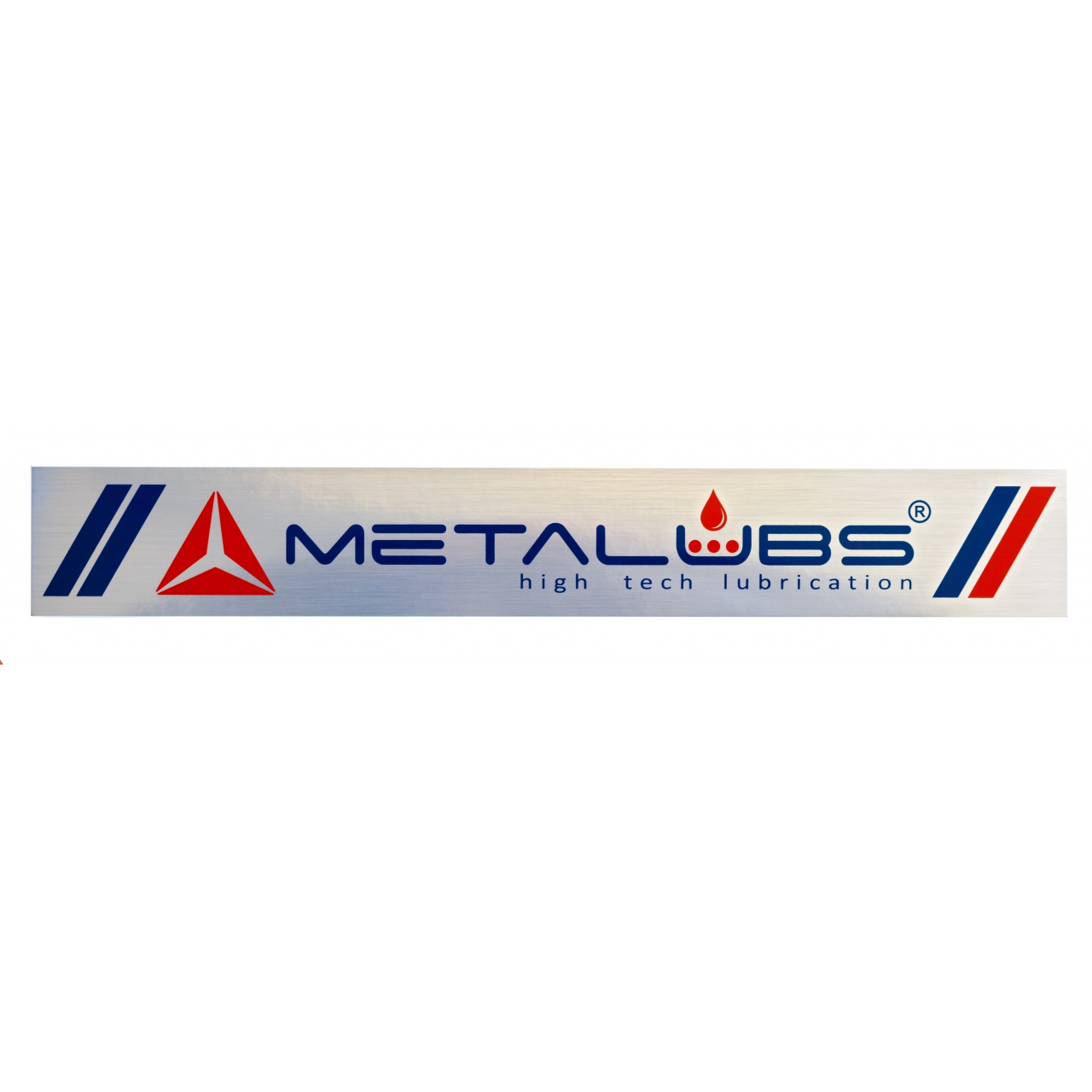 Metalubs sticker 42 × 6 cm