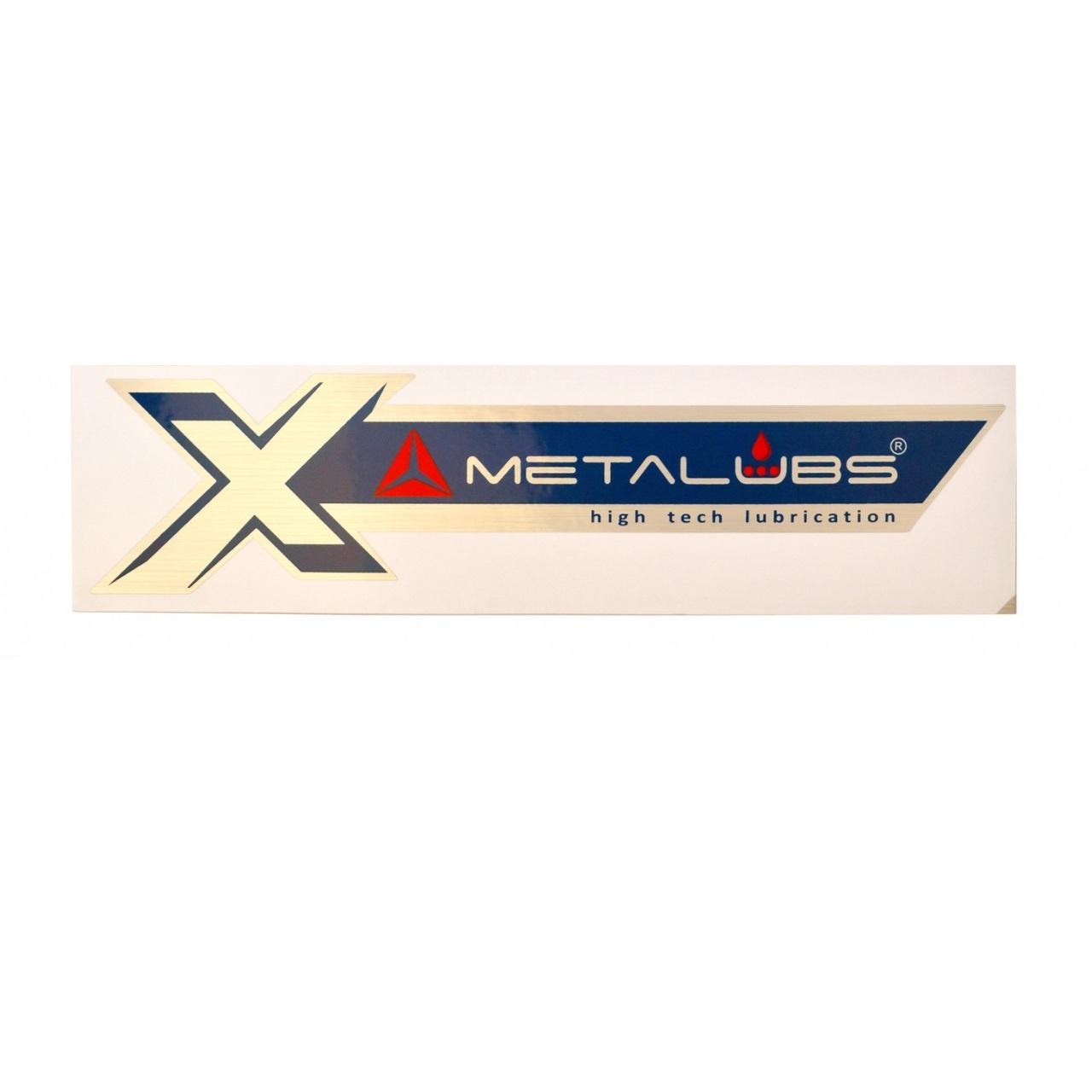 Metalubs sticker 22 × 6 cm