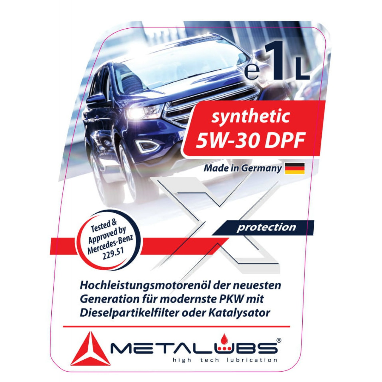 Metalubs synthetic oil 5w30 DPF 200L