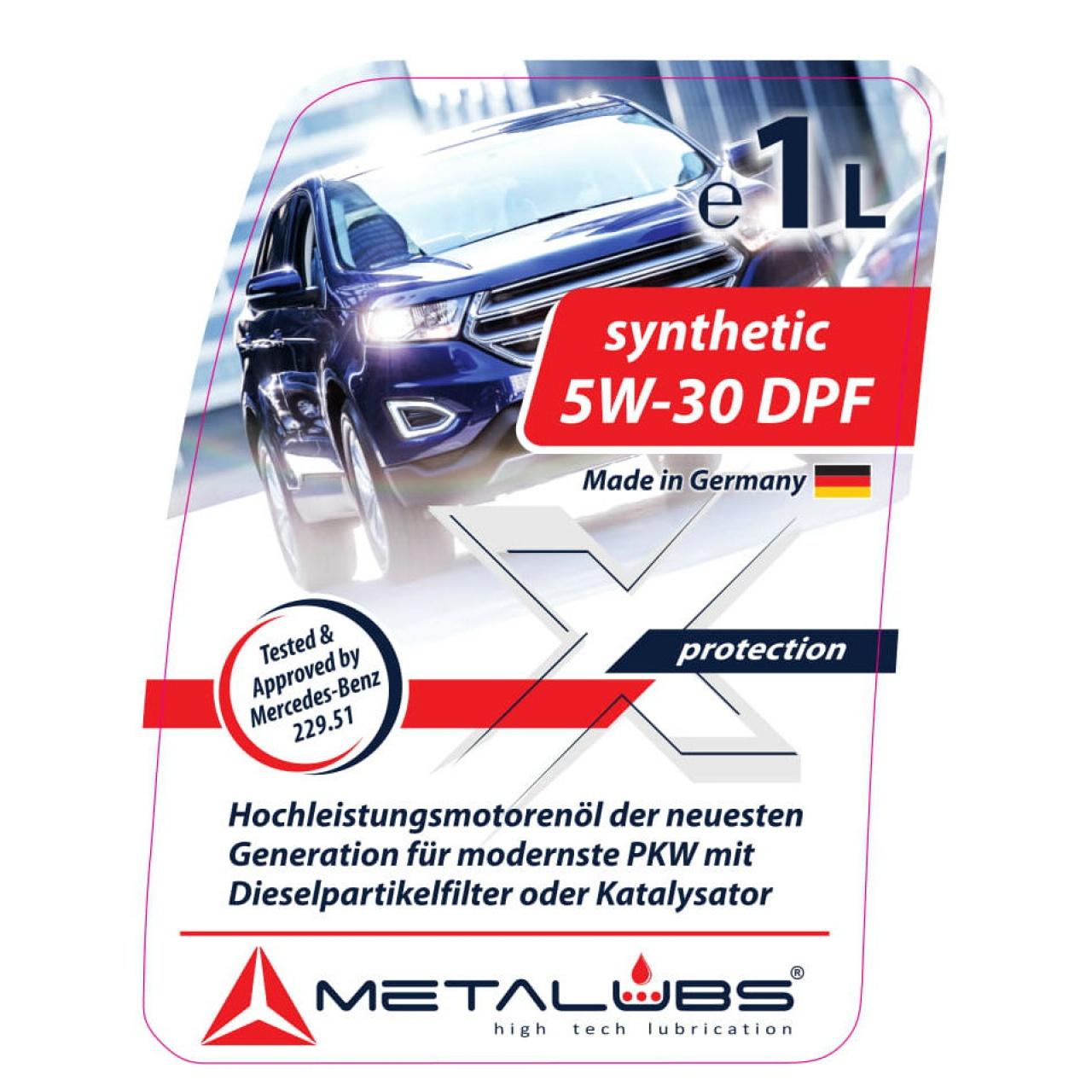 Ulei Sintetic Metalubs 5W-30 DPF 200l