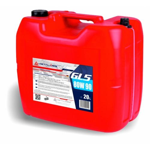 Metalubs GL-5 80W90 20l
