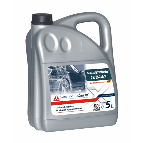 Metalubs Semi-Synthetic Oil 10W-40 5l