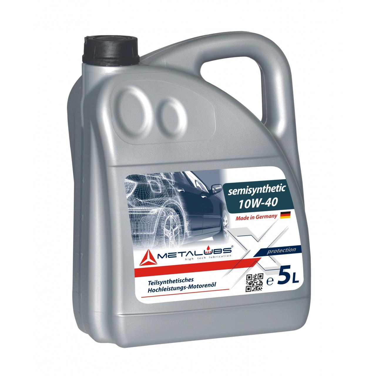 Metalubs Semi-Synthetic Oil 10W-40 5l