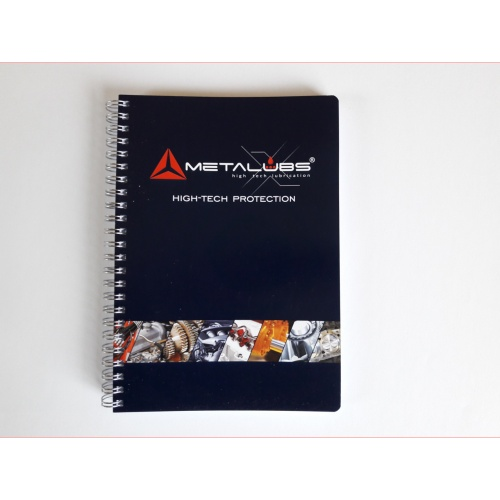 Metalubs Notizbuch