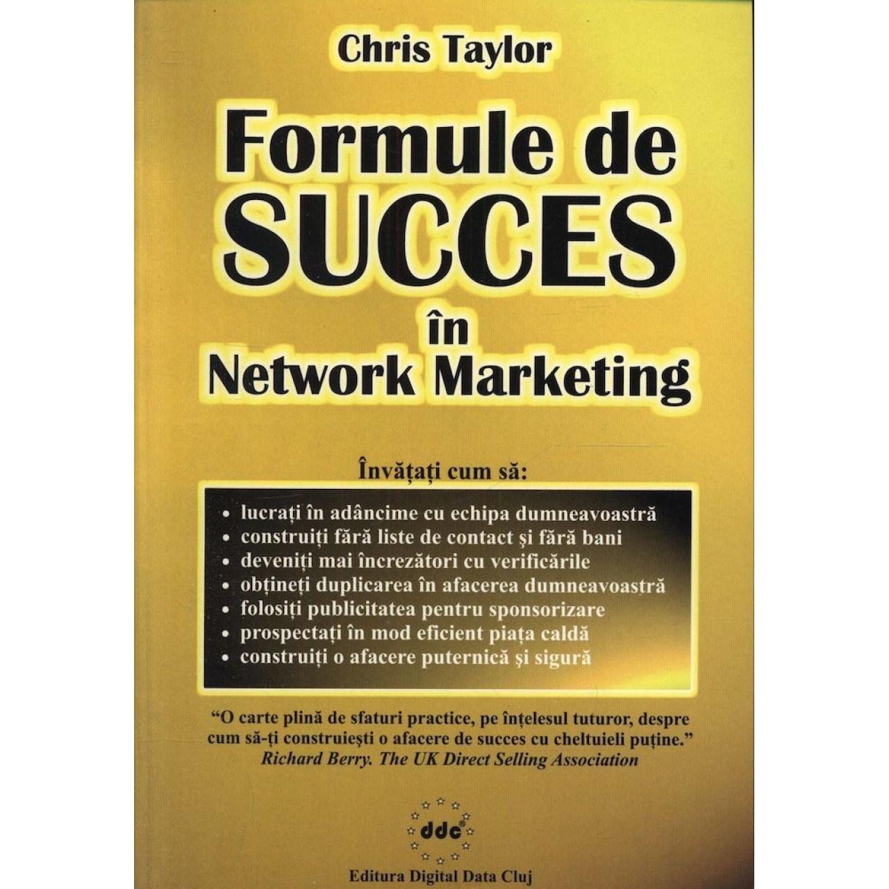 Formule de succes în Network Marketing
