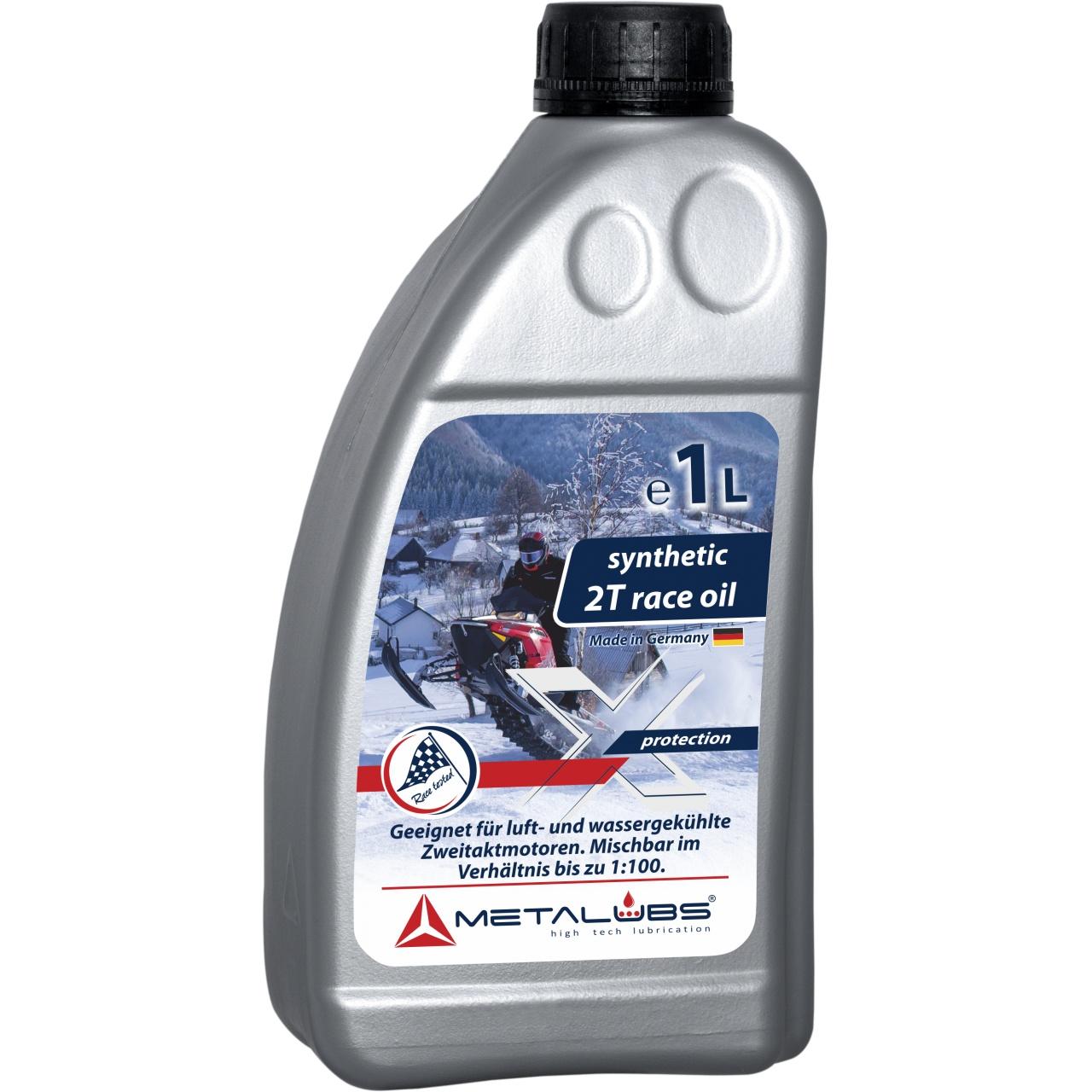 Metalubs 2T szintetikus olaj 1l