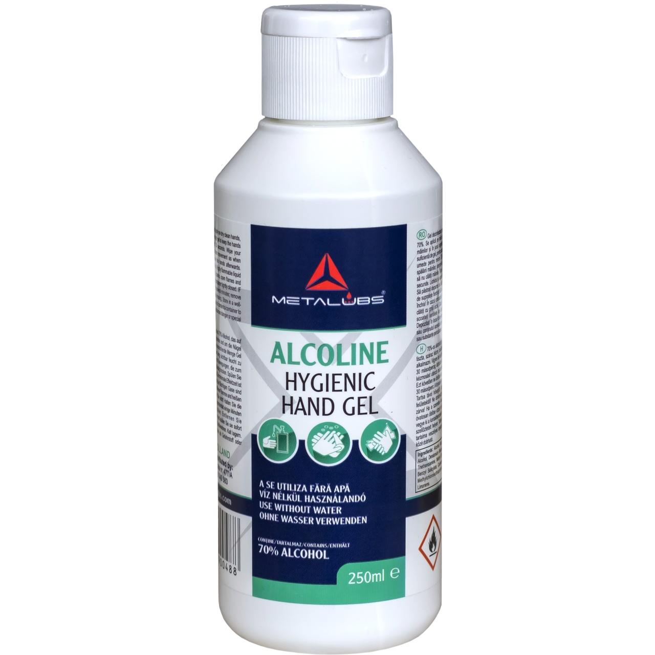Metalubs Alcoline hygienic hand gel
